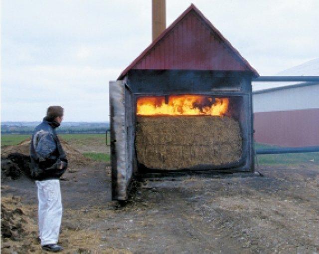Idea balle di paglia come riscaldamento pagina 1 for Costruire stufa pirolisi