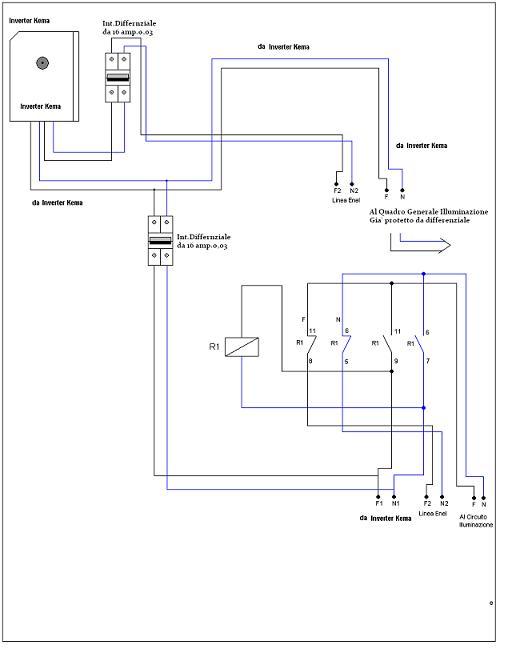 Schema Elettrico Unifilare Impianto Fotovoltaico : Schema unifilare impianto fotovoltaico kw fioriera