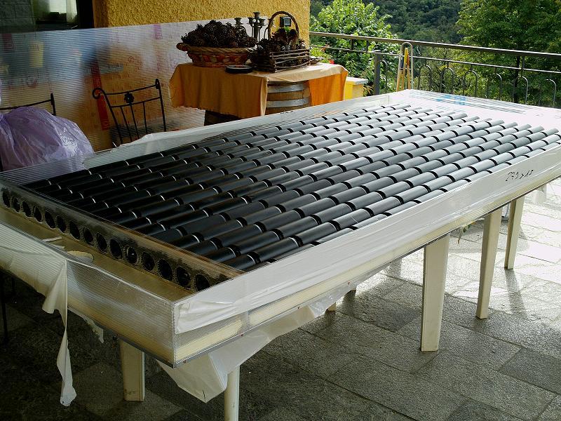 Aria Nel Pannello Solare : Il pannello solare ad aria pagina termico