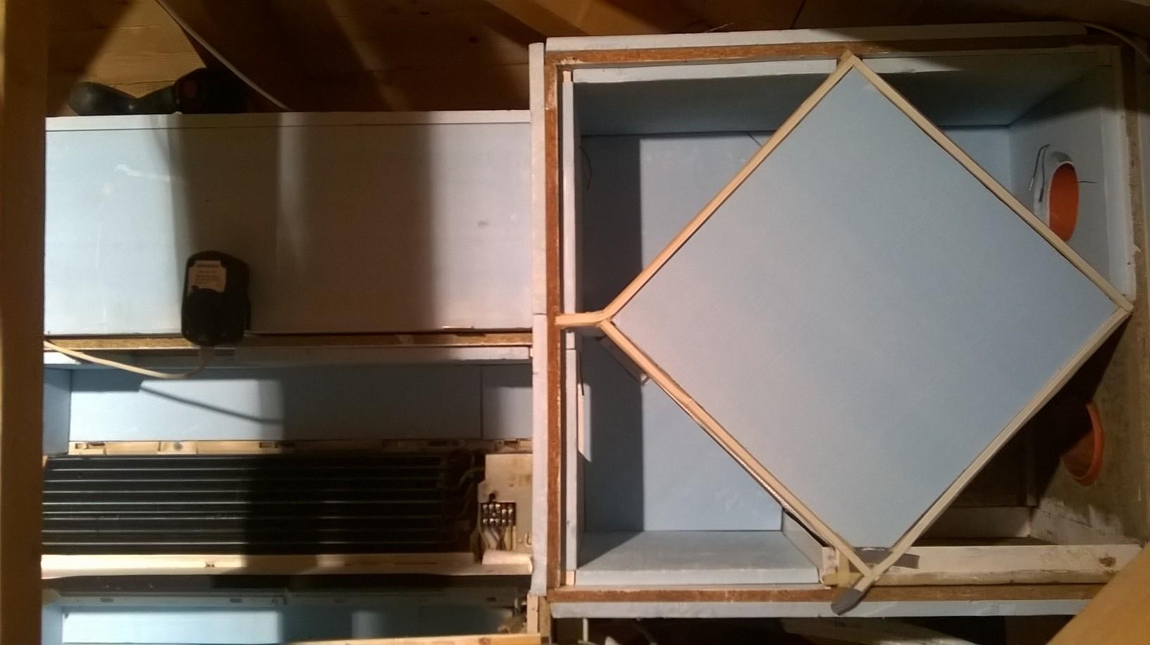 Recuperatore di calore fai da te pompa depressione - Scambiatore di calore casa ...