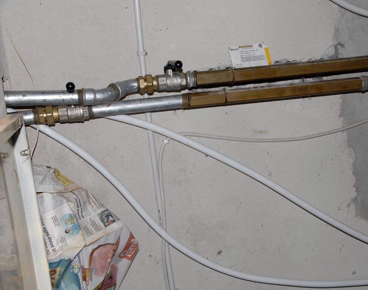Installazione di una caldaia a pellet pagina 1 impianti - Stufa a pellet termosifoni ...