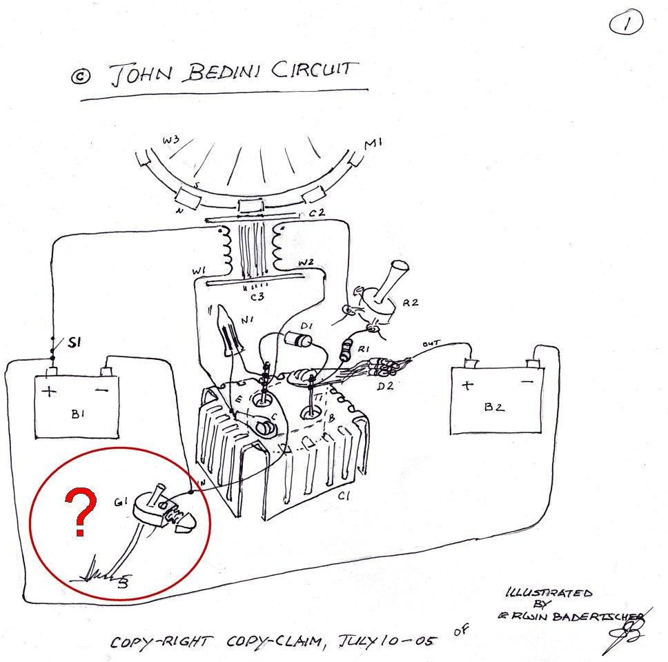 Circuito Motor Bedini : Motore bedini adam pagina motori termici magnetici