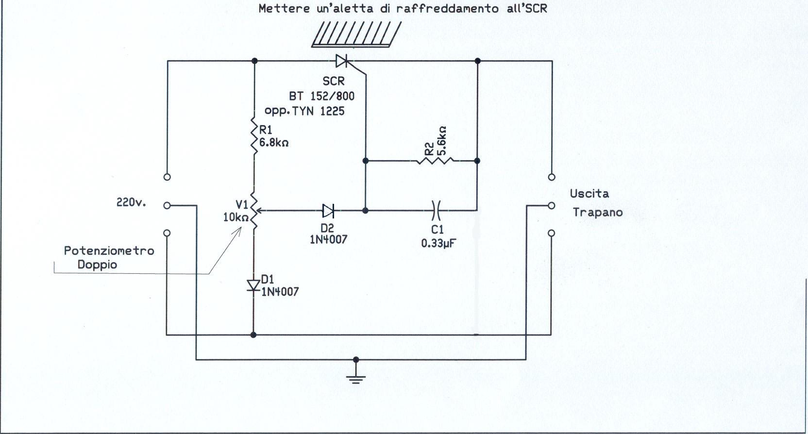 Schema Elettrico Regolatore Velocità Vortice : Cerco varatore di velocità v pagina lastpost vetrina