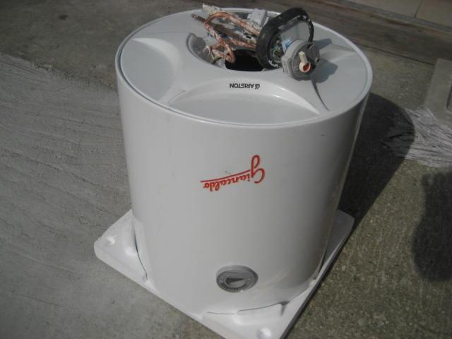 Recuperare un boiler da un vecchio scaldabagno elettrico - Resistenza scaldabagno ...