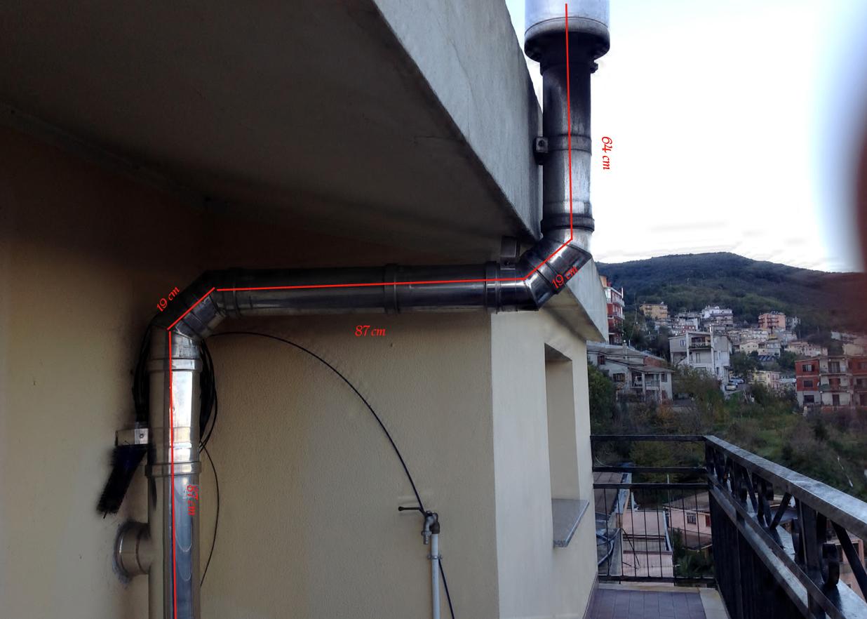 Palazzetti idro barbara vetro nero e molti residui pagina 1 stufe termostufe termocamini - Tubi scarico fumi stufe a pellet ...