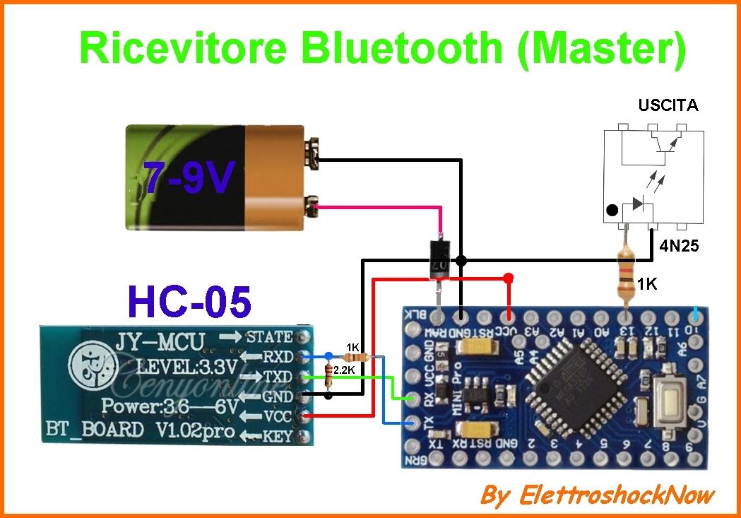 Connessione bluetooth arduino nano con