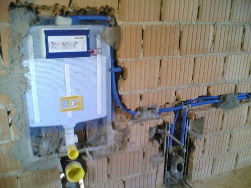 Come restaurare il nostro bagno della nostra abitazione - Impianto di scarico bagno ...