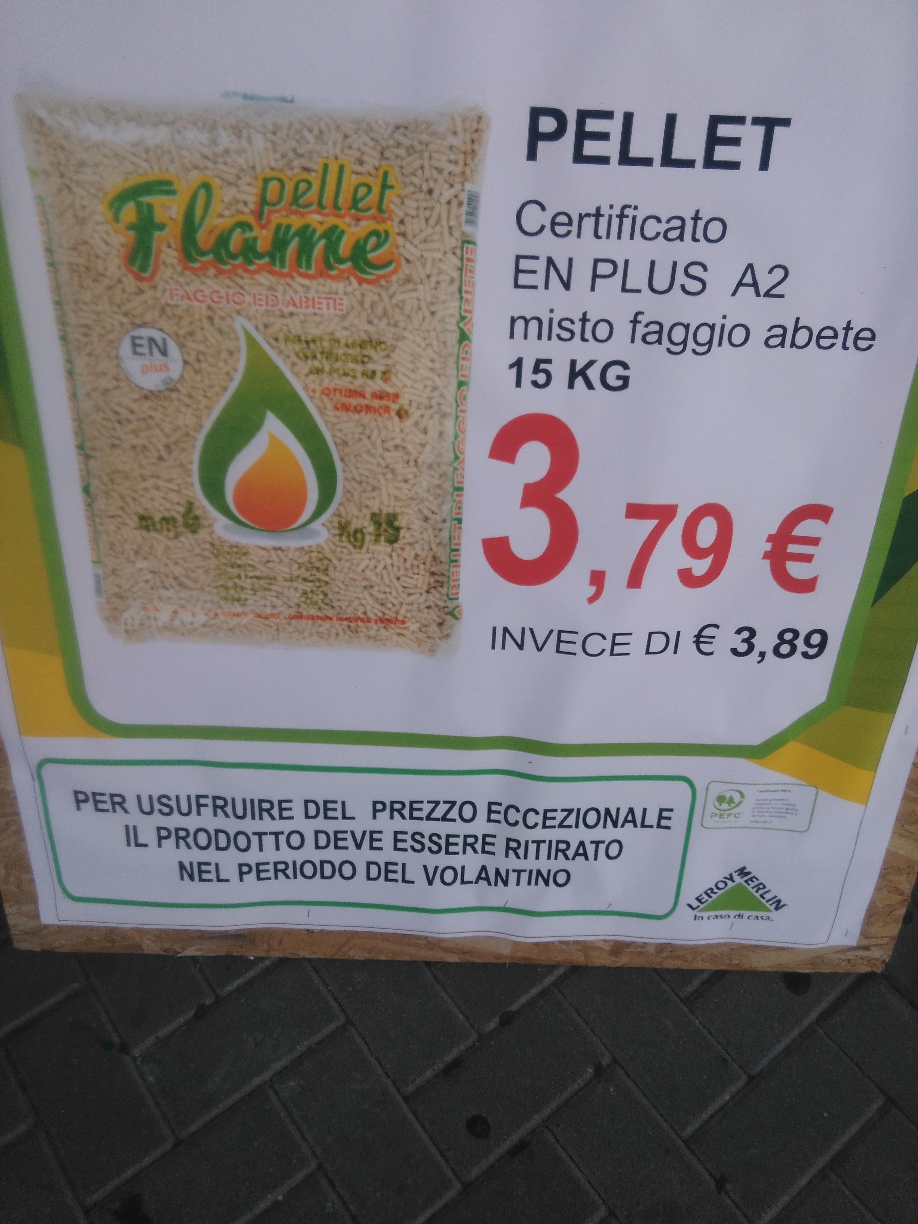 Stufa pellet leroy merlin beautiful caldeira a pellets for Pellets leroy merlin