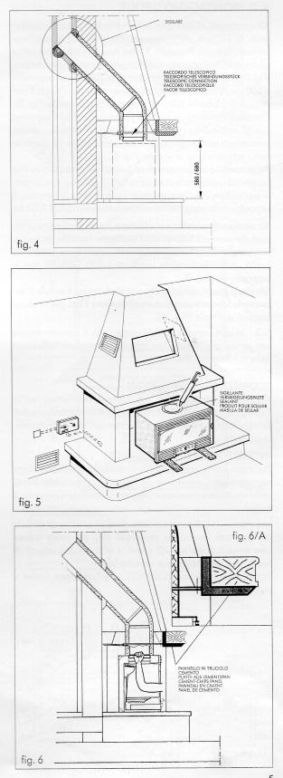 Recuperatore di aria calda da camino aperto da chiudere for Saldatrice bricoman