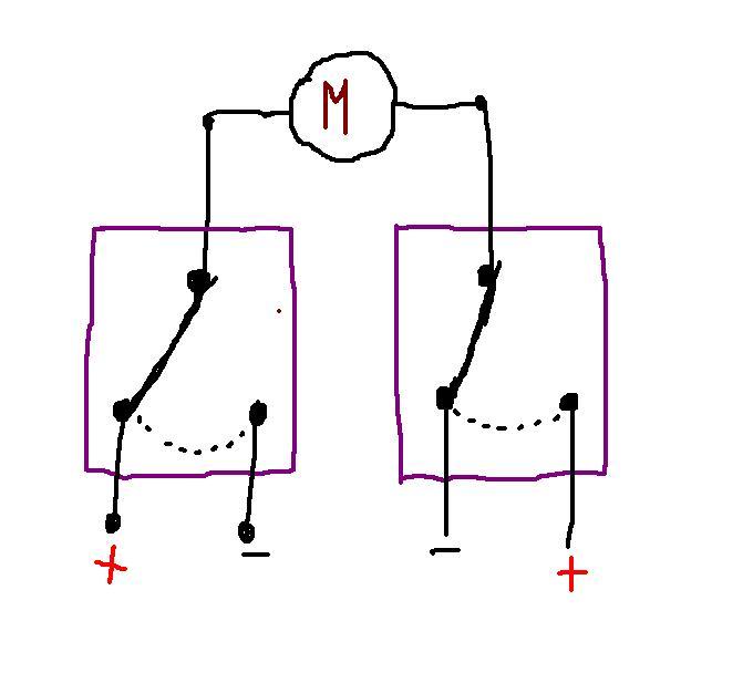 Schema Elettrico Motore Avanti Indietro : Costruire un invertitore di tensione con relè pagina
