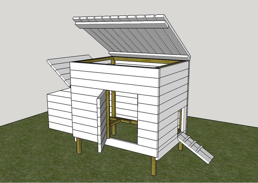 Costruire un pollaio con legno di recupero pagina 6 for Progetti in legno da realizzare
