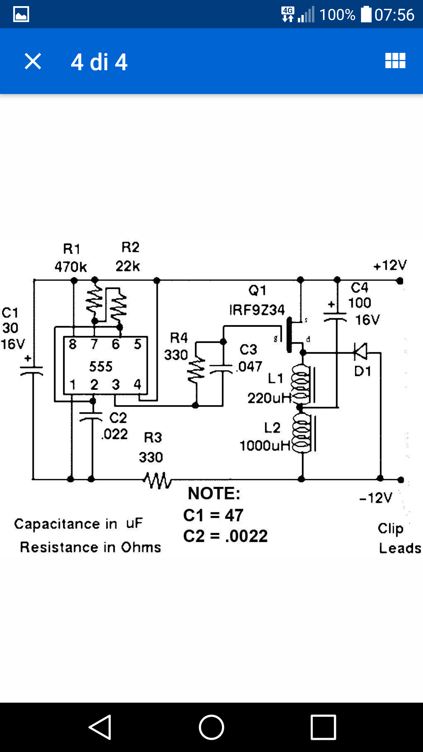 Il desolfatatore megapulse pagina 57 accumulatori for Caricabatterie lidl