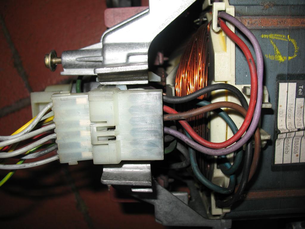 Schema Collegamento Motore Lavatrice A Spazzole : Motore lavatrice miele pagina motori termici